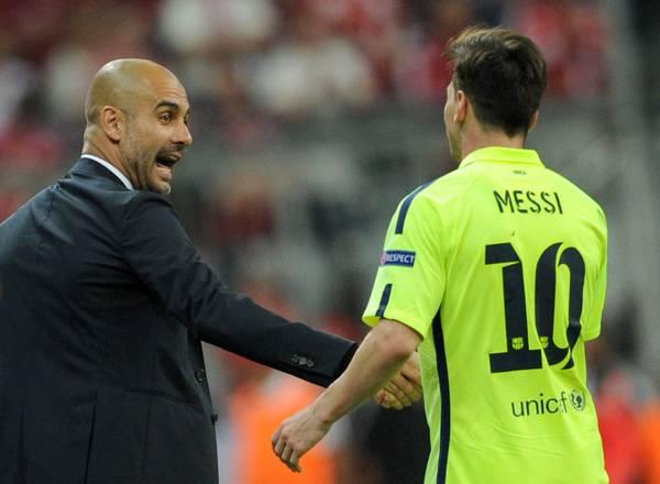 FÚTBOL: Messi apuesta por Guardiola