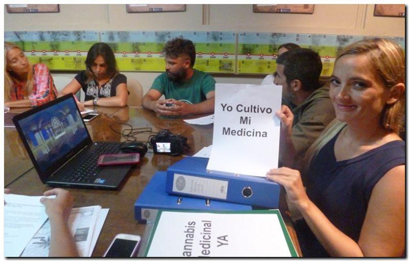 NECOCHEA: Piden apoyo para el cultivo del Cannabis Medicinal