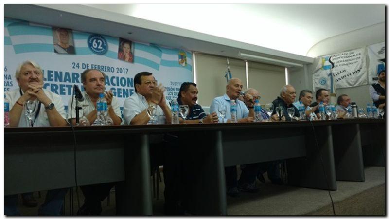 POLÍTICA: Gerónimo Venegas ratificado como titular de las 62 organizaciones