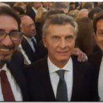 PUERTO QUEQUÉN: Arturo Rojas junto a Mauricio Macri en la Misión Multisectorial en España