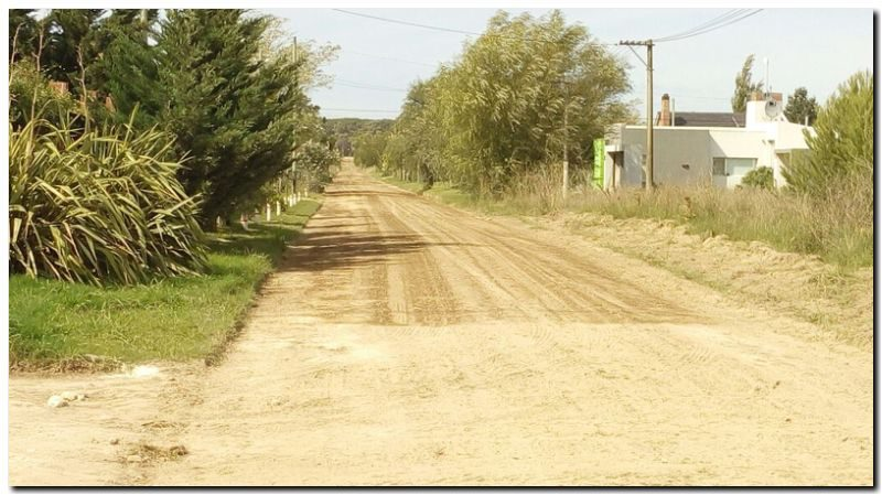NECOCHEA: Se siguen sumando las calles de tierra arregladas