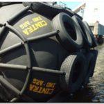 PUERTO QUEQUEN: Renovación de defensas neumáticas