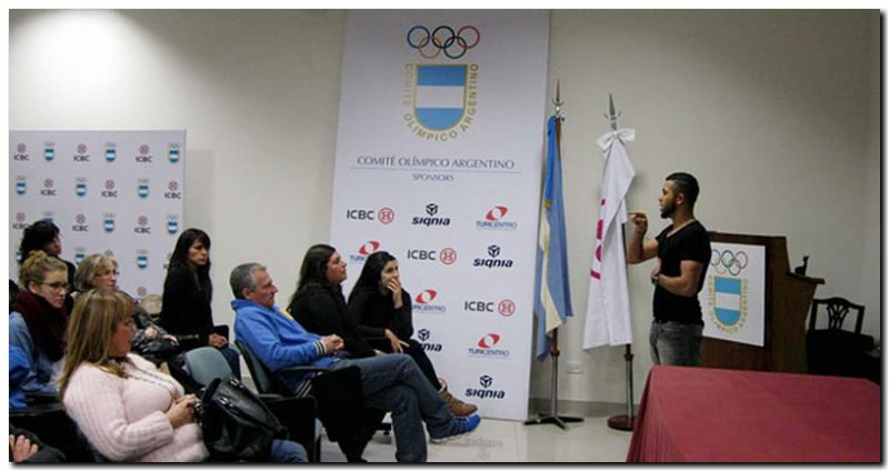 DEPORTES: Cine Debate «Deporte y Cultura de Paz» Comité Olímpico Argentino (COA)