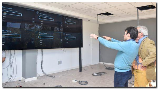 NECOCHEA: Se está colocando el equipamiento tecnológico en el Centro de Monitoreo
