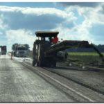 OBRAS: Repavimentan la ruta 227