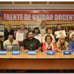 EDUCACIÓN: Principales gremios docentes definen paro de 48 horas