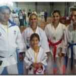 DEPORTES: Medallas para el karate necochense