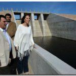 """OBRAS: El gobierno de la provincia de Buenos Aires inauguró la presa """"La Isidora"""""""