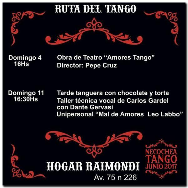 NECOCHEA: Cuenta regresiva para el inicio de la Ruta del Tango 2017