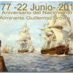 QUEQUÉN: Acto conmemorativo del 240 Aniversario del Nacimiento de Almirante Brown