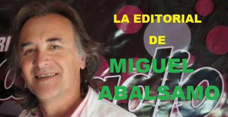 Intento de desestabilizar a la usina popular denuncio en su editorial Miguel Abálsamo
