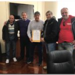 NECOCHEA: Acta constitutiva de la CGT Peralta