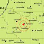 TEMOR: Un sismo hizo temblar a San Juan y La Rioja