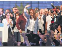 ELECCIONES 2017: Cristina, «No nos alcanzó para superar a nuestros adversarios»