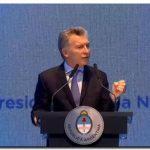 GOBIERNO: Macri anunció el régimen de extinción de dominio mediante DNU