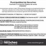 NECOCHEA: Se ponen a la venta los pliegos para arrendar lotes en el Aeródromo local