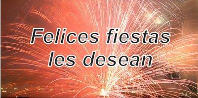 Salutaciones por las Fiestas!!!