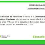 NECOCHEA: Jura de consejeros escolares