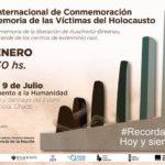 DERECHOS HUMANOS: Acto en Chaco en memoria de las víctimas del Holocausto