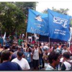 POLÍTICA: Movilización de necochenses en Capital Federal