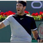 TENIS: Del Potro campeón en Indian Wells al ganarle a Federer