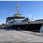 PUERTO QUEQUÉN recibe al buque de investigación más moderno del país