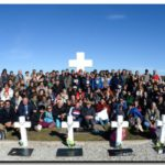 Fotos de los Familiares de los soldados reconocidos en Malvinas