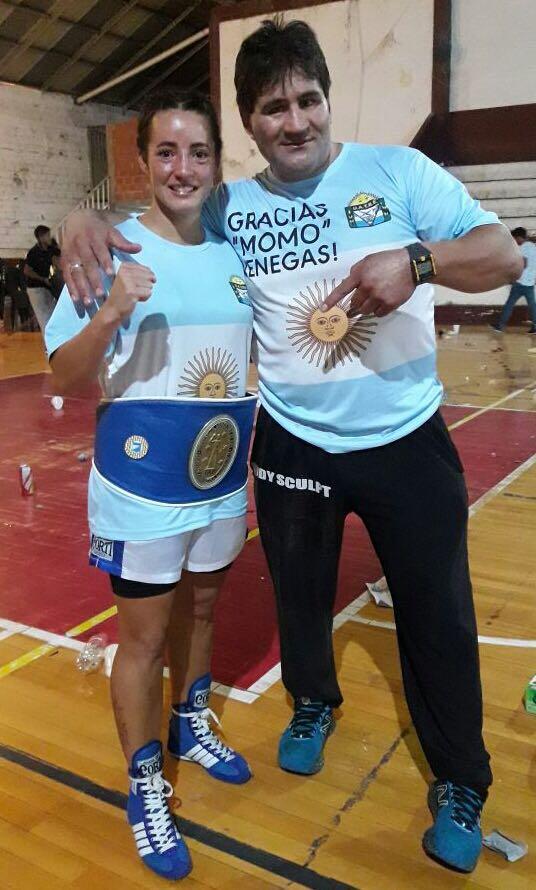 BOX: Hoy llega la campeona sudamericana, Jorgelina Guanini