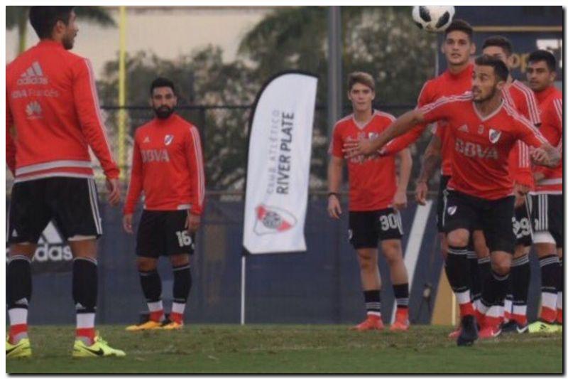 FÚTBOL: River, con equipo alternativo ante U de Chile
