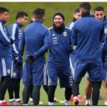 FÚTBOL: Sampaoli define el equipo para enfrentar a Italia