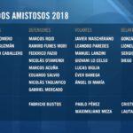 SELECCIÓN: Bustos, Pérez, Meza, Pavón y Martínez, a la Selección
