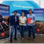 TURISMO: Junto al Entur, López promocionó el Enduropale en el Moto GP de Termas de Río Hondo