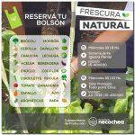 NECOCHEA: Cinco asociaciones comercializan los bolsones de Frescura Natural esta semana