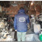 POLICIALES: Clausuran desarmadero en Necochea y secuestran más de 600 autopartes