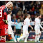 FÚTBOL: Ránking FIFA con varios cambios tras amistosos