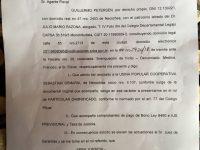 NECOCHEA: Nueva presentación judicial contra Francisco Medina y el Consejo de Administración
