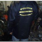 POLICIALES: Allanan taller y secuestran siete motocicletas y autopartes