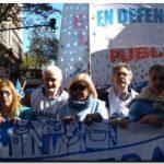 CONADU Histórica presente en la Marcha Federal Educativa