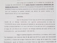 NECOCHEA: Denuncia penal de la UPC por faltante de cheques