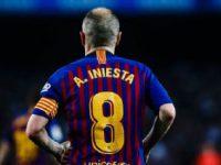 FÚTBOL: Barcelona ganó en la despedida de Iniesta