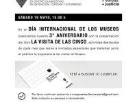 DERECHOS HUMANOS: 3er Aniversario Museo Sitio de Memoria ESMA