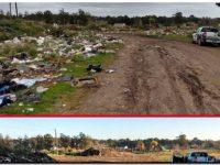 El municipio sigue erradicando basurales