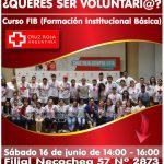 NECOCHEA: ¿Querés ser VOLUNTARIO de la Cruz Roja Argentina?