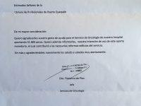 CAPROQ entrega donación al servicio de oncología del Hospital Municipal