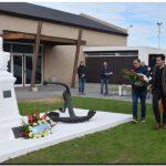 Se conmemoró el 241° aniversario del nacimiento del Almirante Brown en Puerto Quequén