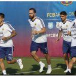 MUNDIAL 2018: Argentina comenzó a entrenarse en Barcelona