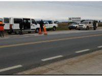 TRÁNSITO: Realizan controles de carga en camiones sobre la ruta 88