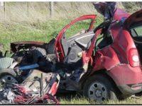 Un matrimonio falleció en un choque frontal cerca de Necochea