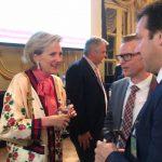 Puerto Quequén refrendó el contrato de profundización con la princesa Astrid de Bélgica