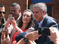 Iván Duque, electo presidente en Colombia